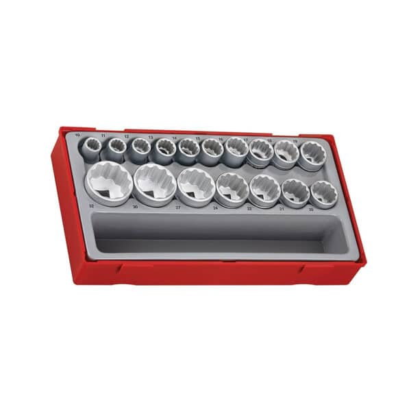 "1/2"" Drive Socket Set (12 point) - Set Tubulare 1/2"" 12 Laturi"