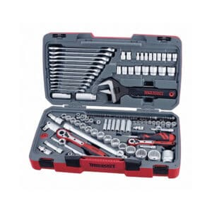 """1/4"""", 3/8"""" and 1 /2"""" Drive Metric and AF Socket and Tool Set 127pcs - Tubulare 1/4"""", 3/8"""", 1/2"""" si Tubulare AF si Trusa Scule 127 Piese"""