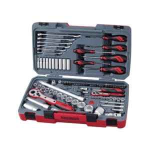 """1/4"""" and 1/2"""" Driver Socket and Tool Set 95 pcs - Trusa Scule si Tubulare 1/4"""", 1/2"""" 95 Piese"""