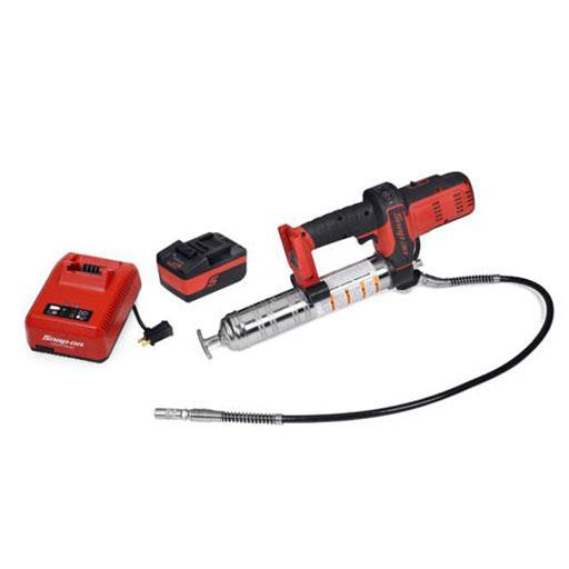 18 V Cordless Grease Gun Kit - Pistol pentru Gresat cu Acumulator 18 V
