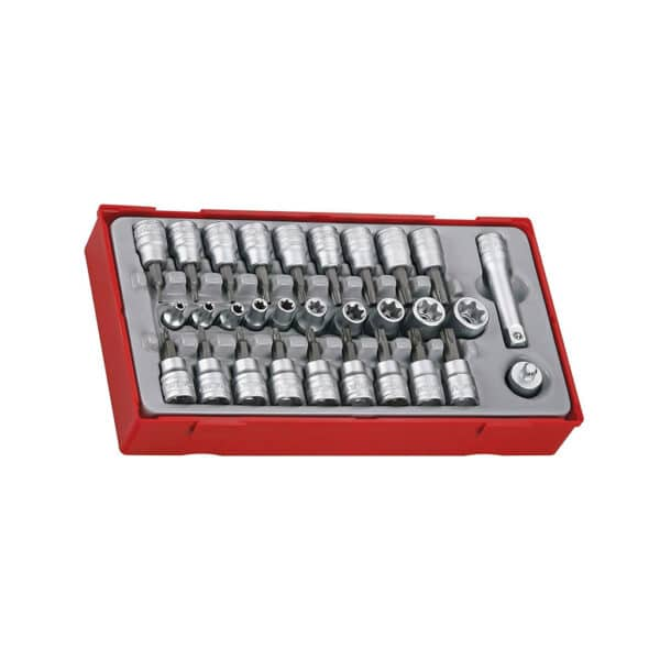 "3/8"" Drive TX/TPX/TXE Socket Set - Set Tubulare Bit 3/8"""