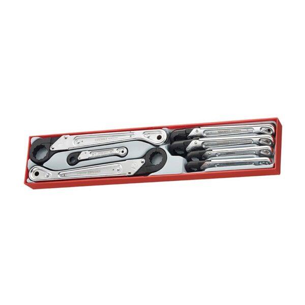 Chei cu Prindere Rapida 7 Piese - Teng Tools - 186780102