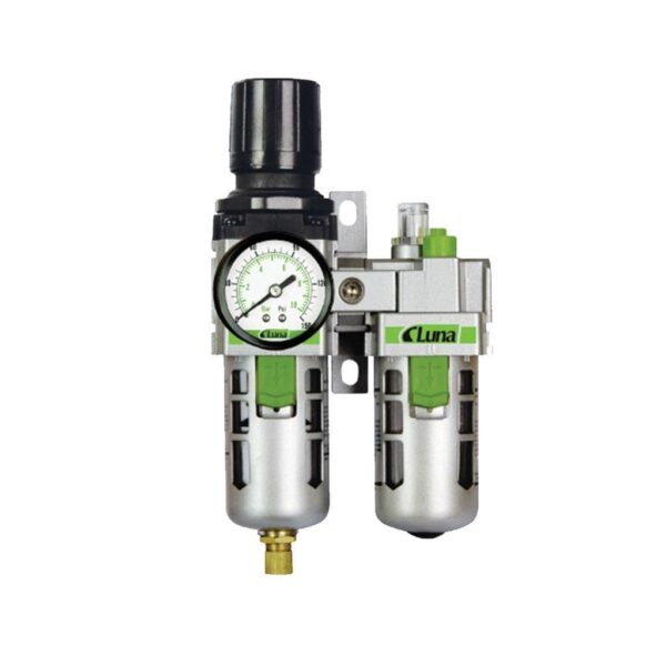 Filtru. Regulator si Lubrificator F-R-L UNIT 3/8'' MD - Teng Tools - 204530208