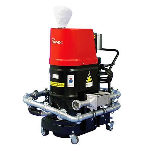"Portable Extraction System with ""H""-filter - Aspirator Portabil cu Filtru ""H"""