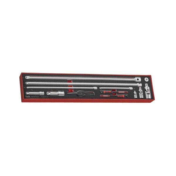 Set Accesorii Tubulare 13 Piese - Teng Tools - 238440101