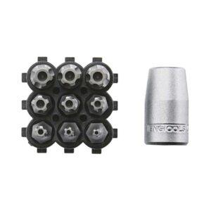 Set Biti Torx cu 5 Colturi - Teng Tools - 160910105