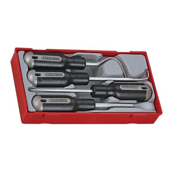 Set Carlige si Raclete pentru Garnituri 4 Piese - Teng Tools - 117690107