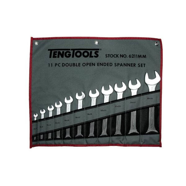 Set Chei 11 Piese - Teng Tools - 151650108