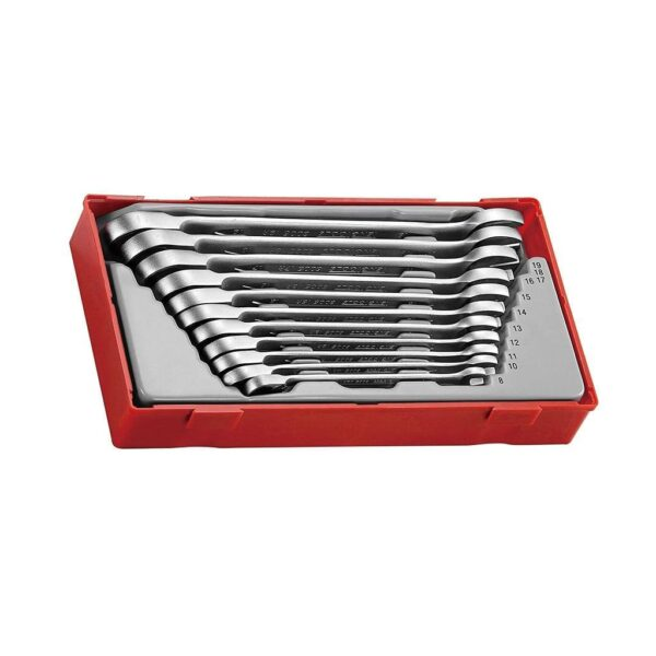 Set Chei Combinate 11 Piese - Teng Tools - 186750105