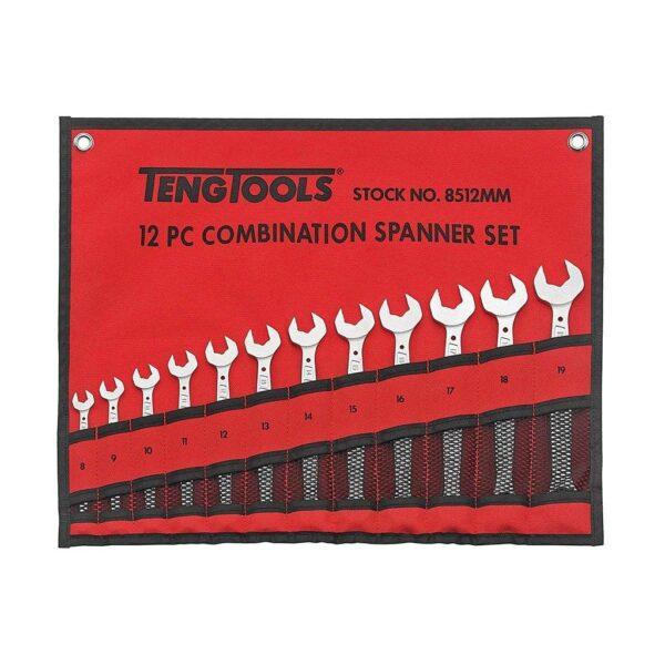 Set Chei Combinate 12 Piese - Teng Tools - 238180202