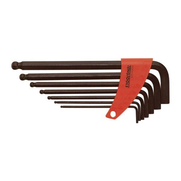Set Chei Imbus AF cu Bila 7 Piese - Teng Tools - 109550202