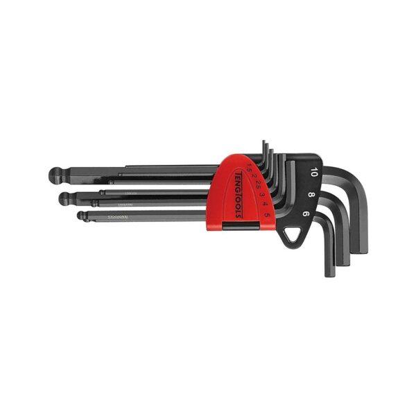 Set Chei Imbus Crom Molibden 9 Piese - Teng Tools - 231770108