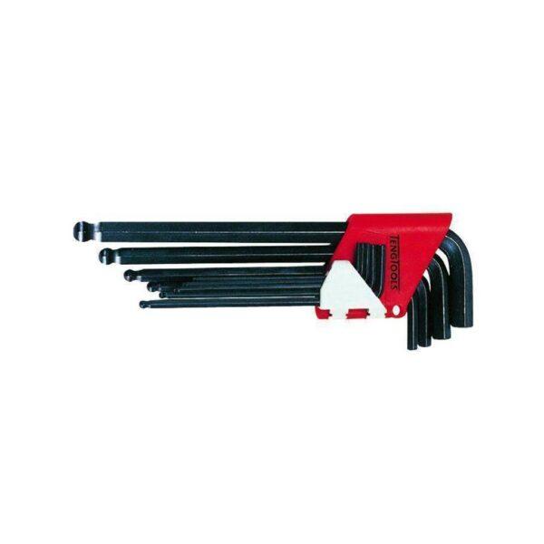 Set Chei Imbus Metrice 9 Piese - Teng Tools - 112260104