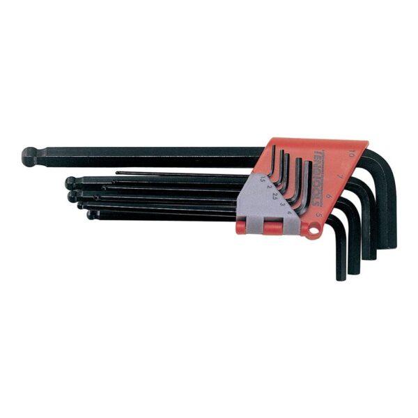 Set Chei Imbus Metrice 9 Piese - Teng Tools - 117240101