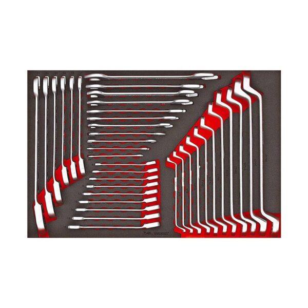 Set Chei Metrice 27 Piese - Teng Tools - 161740105