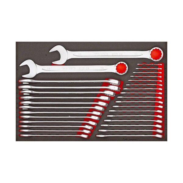 Set Chei Metrice Combinate 31 Piese - Teng Tools - 161750104