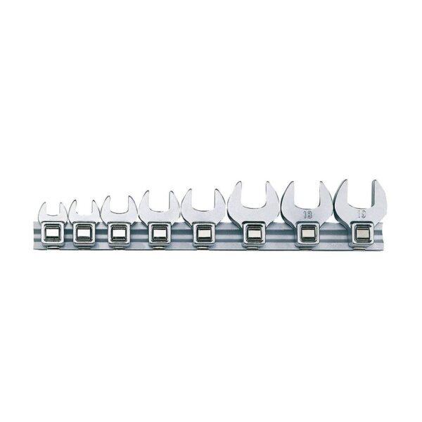 """Set Chei """"Picior de Cioara"""" 8 Piese - Teng Tools - 111990107"""