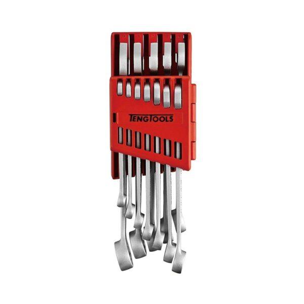 Set Cheie Piulite Anti Alunecare 12 Piese - Teng Tools - 238180103