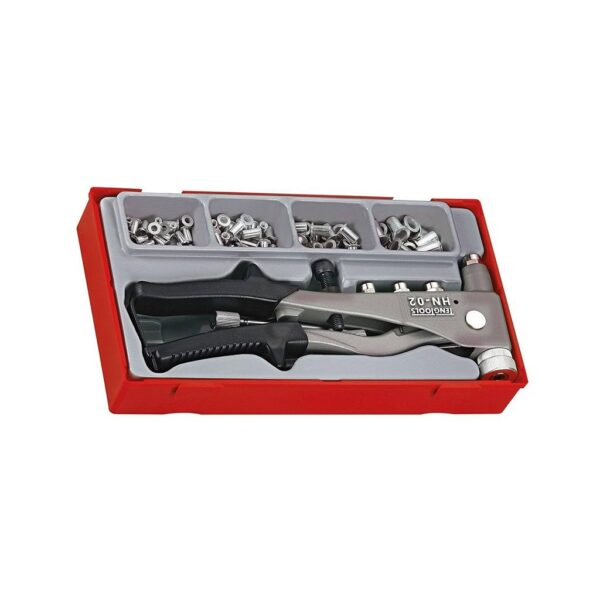 Set Cleste pentru Piulite Nituibile - Teng Tools - 106190101