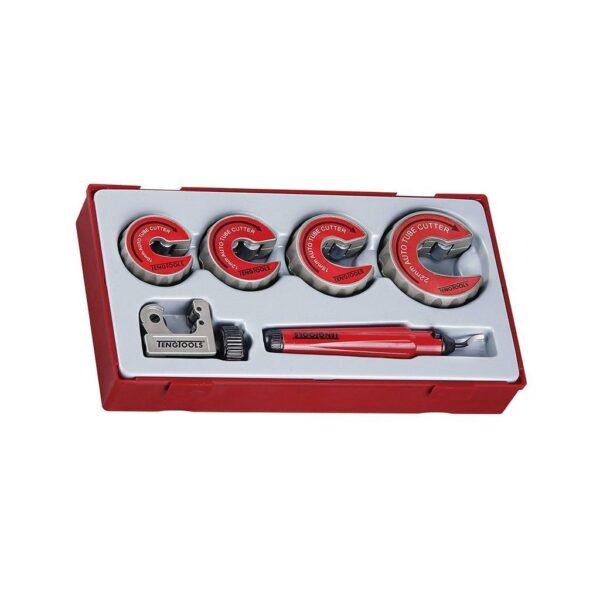 Set Dispozitive Taiat Tevi 6 Piese R - Teng Tools - 186400107-R