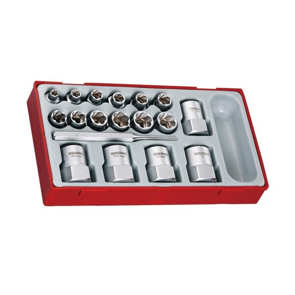 Set Extractoare Suruburi - Teng Tools - 177720109