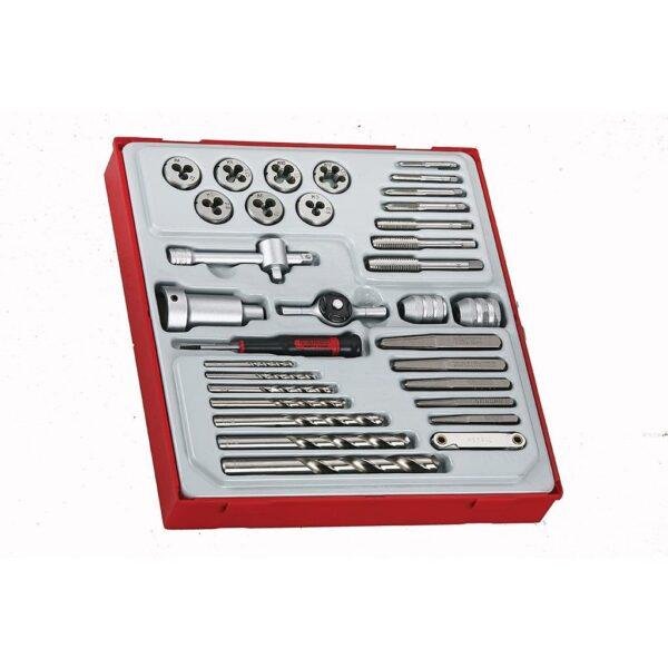 Set Filiere si Tarozi 34 Piese - Teng Tools - 167190107