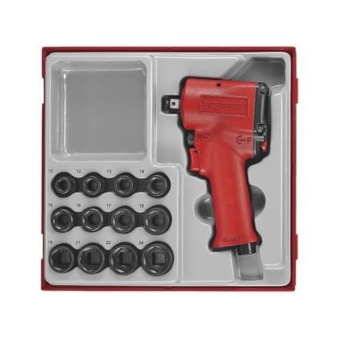 "Set Pistol Pneumatic de Impact 1/2"" 13 Piese - TENG TOOLS - 247700107"