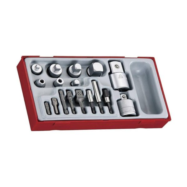 Set Prelungitoare 17 Piese - Teng Tools - 185800109