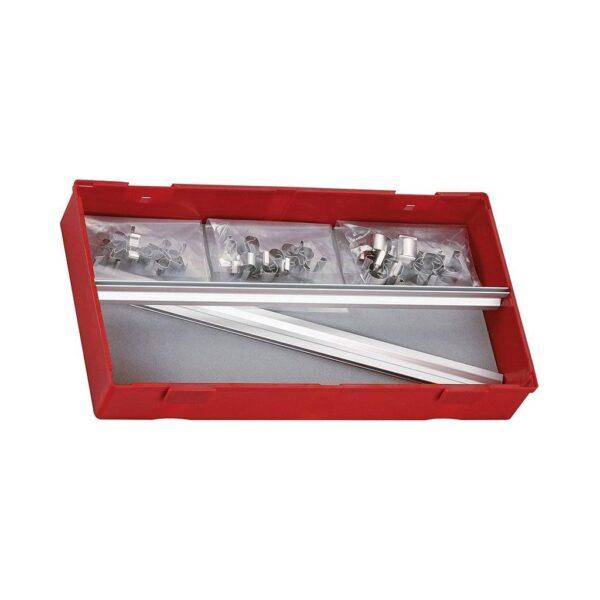 Set Suport cu Cleme pentru Chei Tubulare - Teng Tools - 03890100
