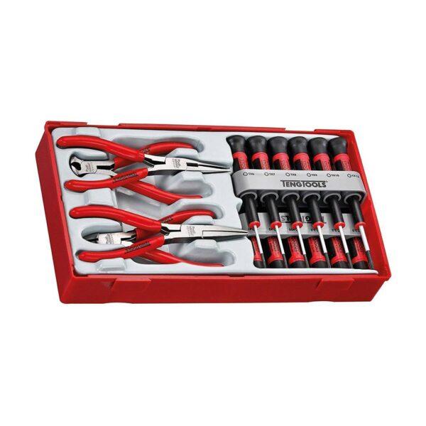 Set Surubelnite si Clesti Mini - Teng Tools - 104450101