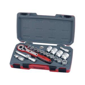 """Set Tubulare 1/2"""" 21 Piese - Teng Tools - 167240100"""