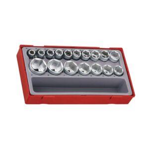 """Set Tubulare 1/2"""" 6 Laturi - Teng Tools - 39180203"""