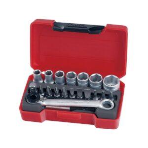 """Set Tubulare 1/4"""" 20 Piese - Teng Tools - 167350107"""