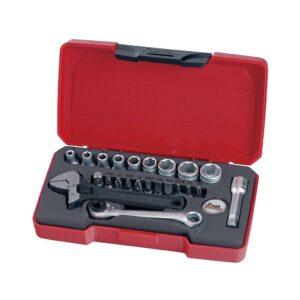 """Set Tubulare 1/4"""" 23 Piese - Teng Tools - 167330109"""
