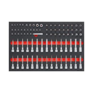 """Set Tubulare 1/4"""", 3/8"""", 1/2"""" 85 Piese - Teng Tools - 178850103"""