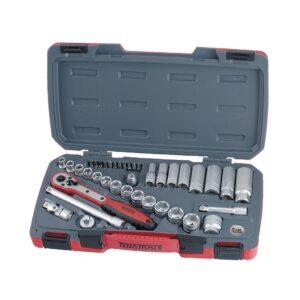 """Set Tubulare 3/8"""" 39 Piese - Teng Tools - 167930106"""