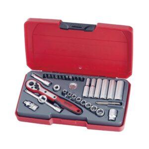 "Set Tubulare AF 1/4"" 35 Piese - Teng Tools - 172470205"