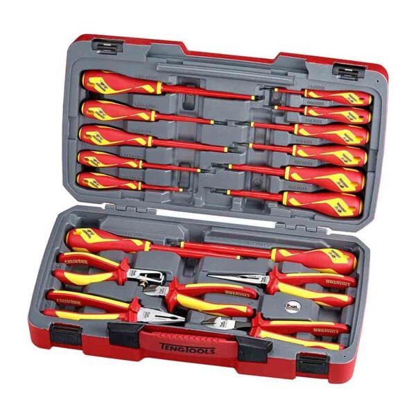 Set Unelte Izolate 1000V 18 Piese - Teng Tools - 178700100