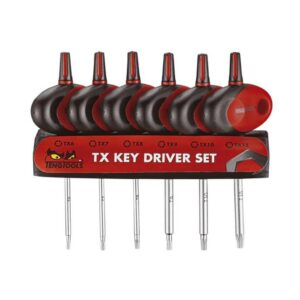 Surubelnite Scurte TX 6 Piese - Teng Tools - 237730106