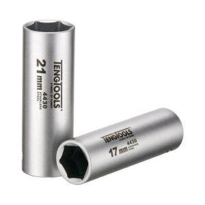 """Tubulara Lunga din Otel Inoxidabil 1/2"""" 6 Laturi - Teng Tools - 165820101"""