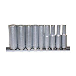 "Tubulare Lungi 1/4"" cu Cleme de Prindere - Teng Tools - 73090102"
