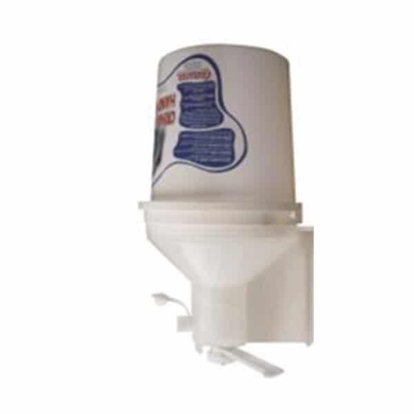 Wall Dispenser for Crema Lavamani Hand Cleaner - Dozator pentru Pasta Alba pentru Curatarea Mainilor